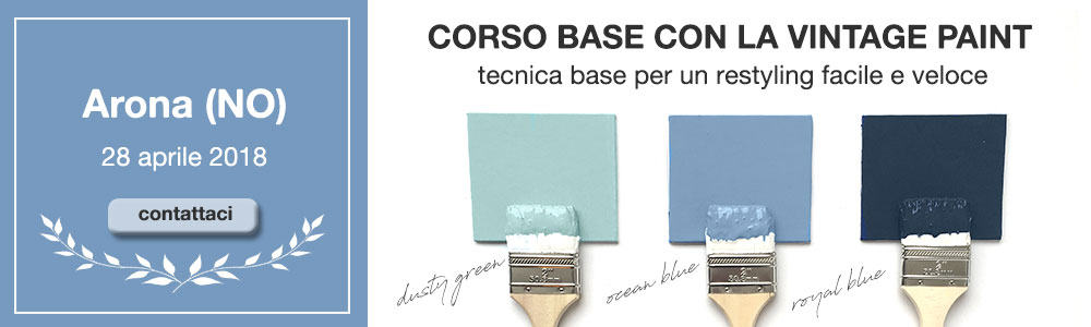 workshop ricolorare il mobile con la chalk paint
