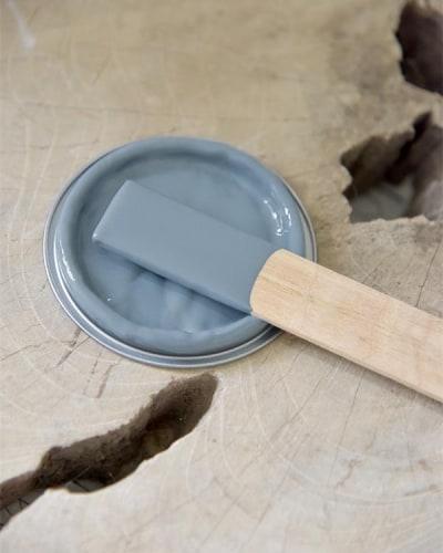 ocean blue Vintage chalk Paint autentico look gesso