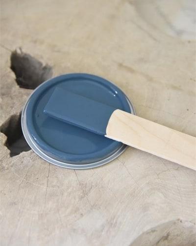 royal blue Vintage chalk Paint autentico look gesso