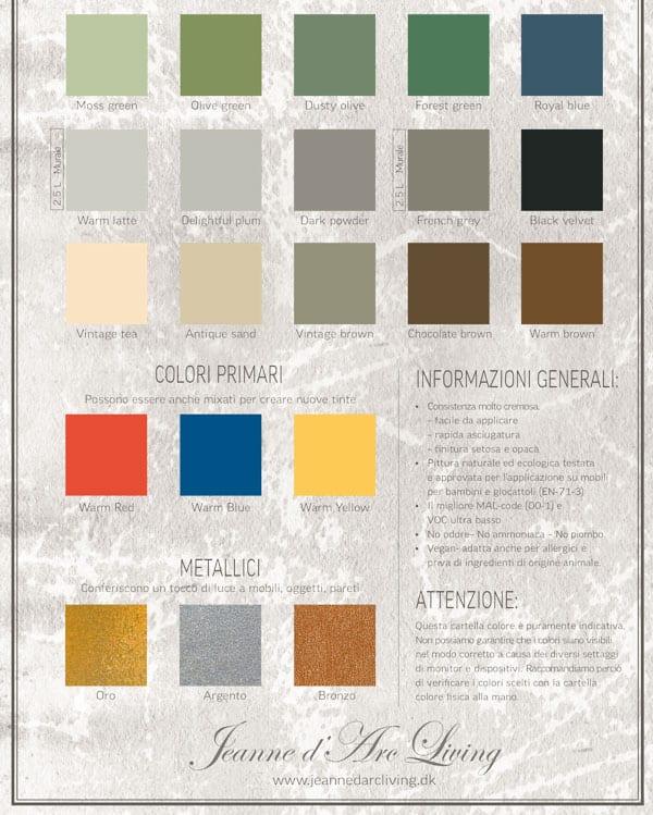 Favorito I colori in stile shabby chic french per ricolorare mobili, pareti  JF11