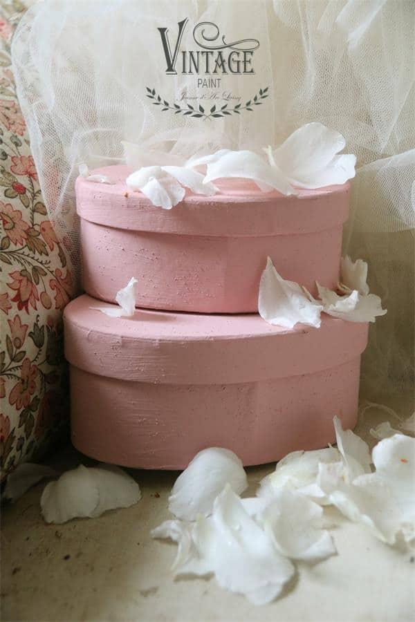 dusty rose vintage chalk paint