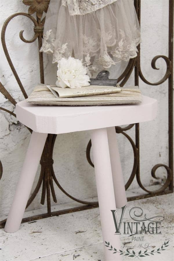 faded rose vintage chalk paint