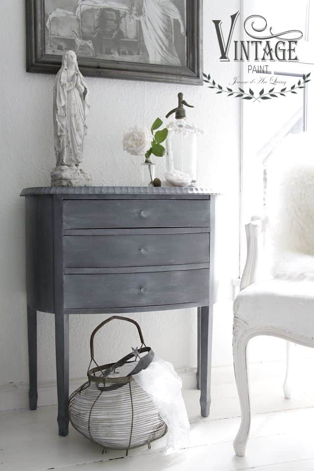 french grey vintage chalk paint