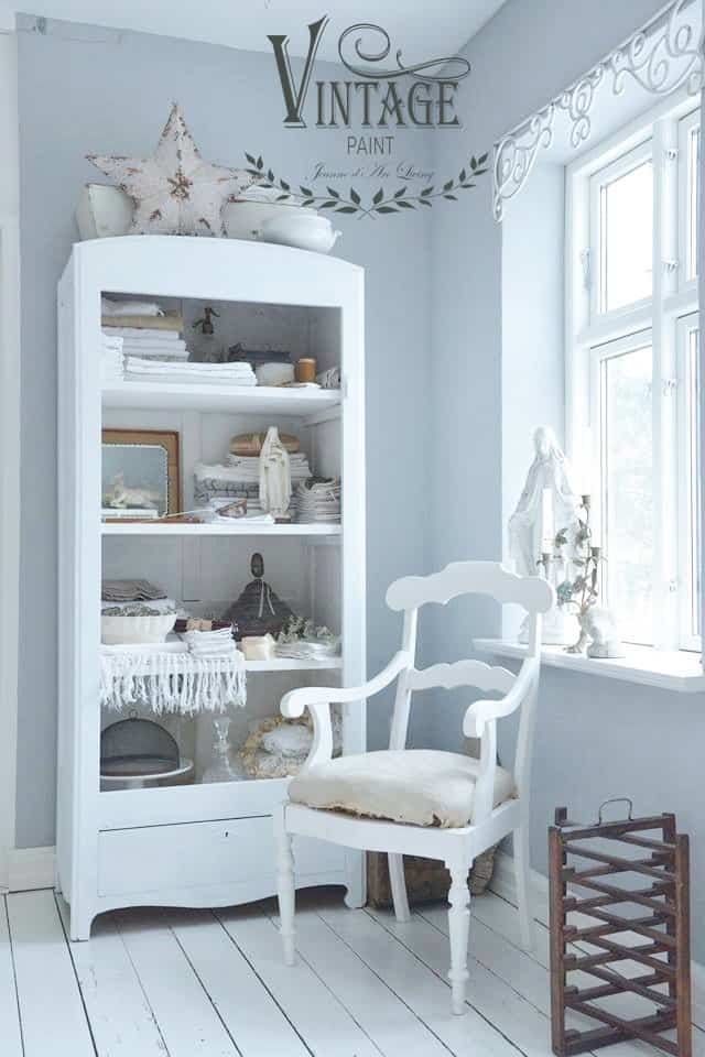 natural white vintage chalk paint