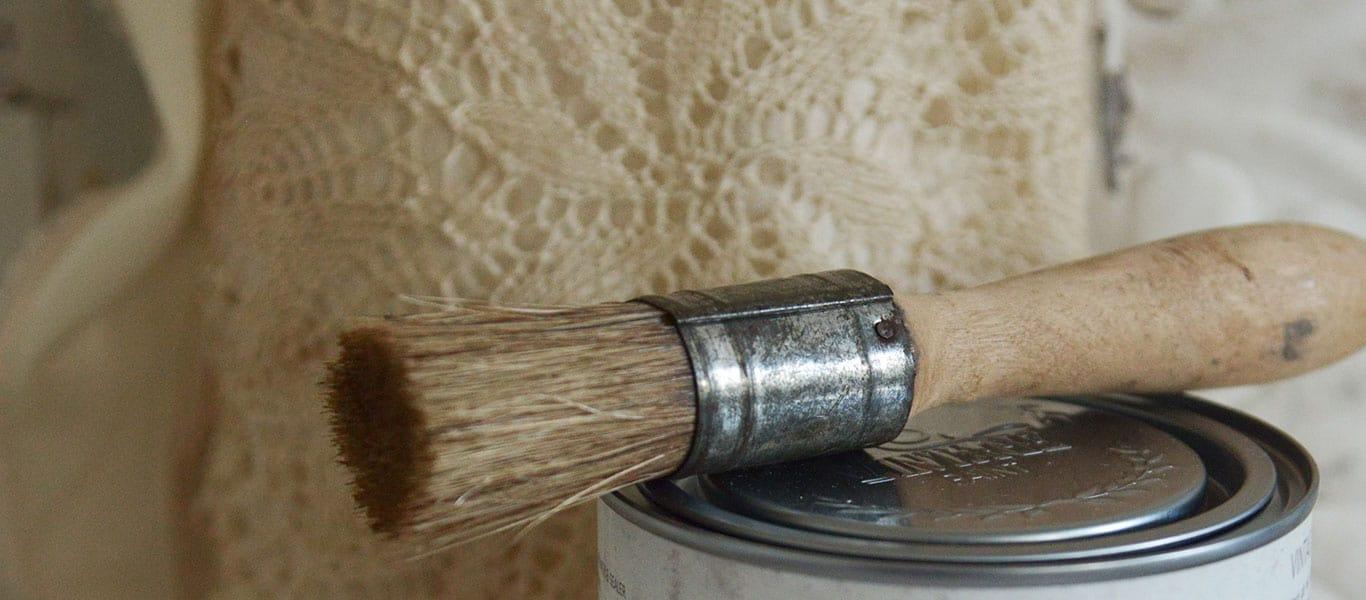 pennelli vintage chalk paint