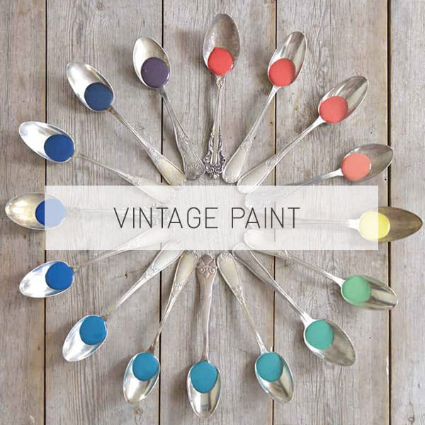 vintage chalk paint vernice shabby