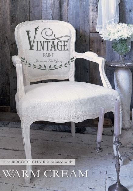 soft cream vintage chalk paint