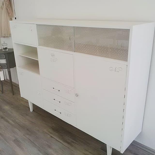 Cosa fare con i mobili molto lucidi vintagepaint - Mobili grezzi da dipingere ...