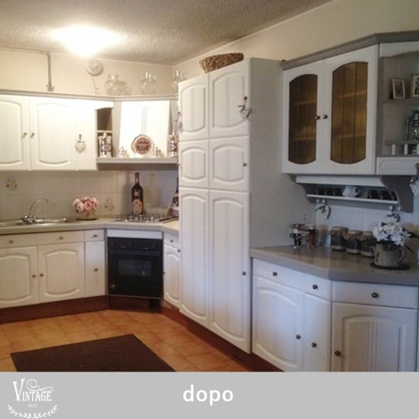 I vostri progetti vintagepaint - Pitturare cucina ...