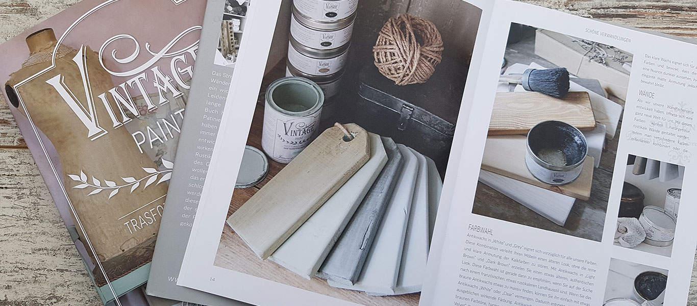 libri vintage chalk paint