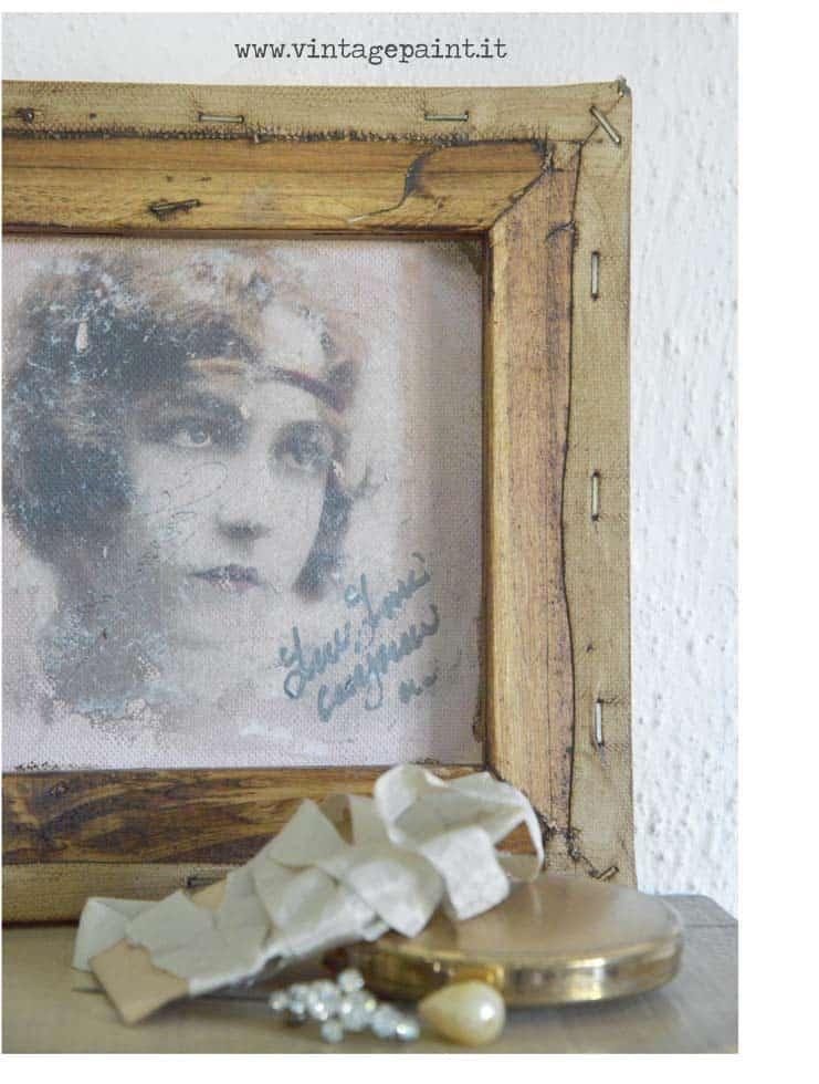 come trasferire immagini con la Vintage Paint