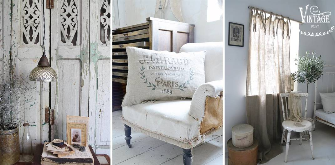 stile nordico shabby vintage paint