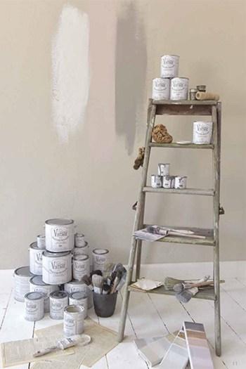 pittura shabby per ricolorare pareti