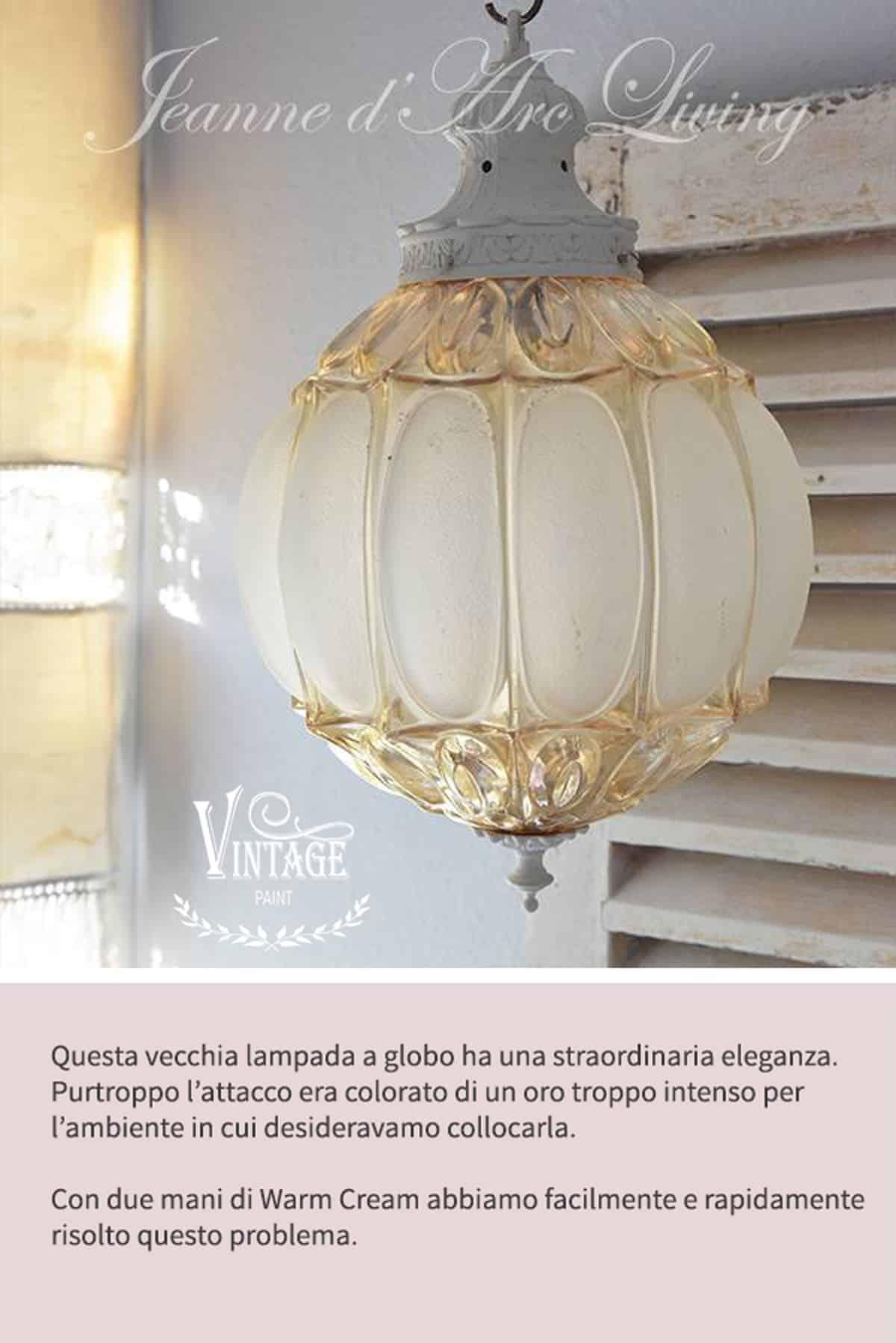 recupero creativo di lampade