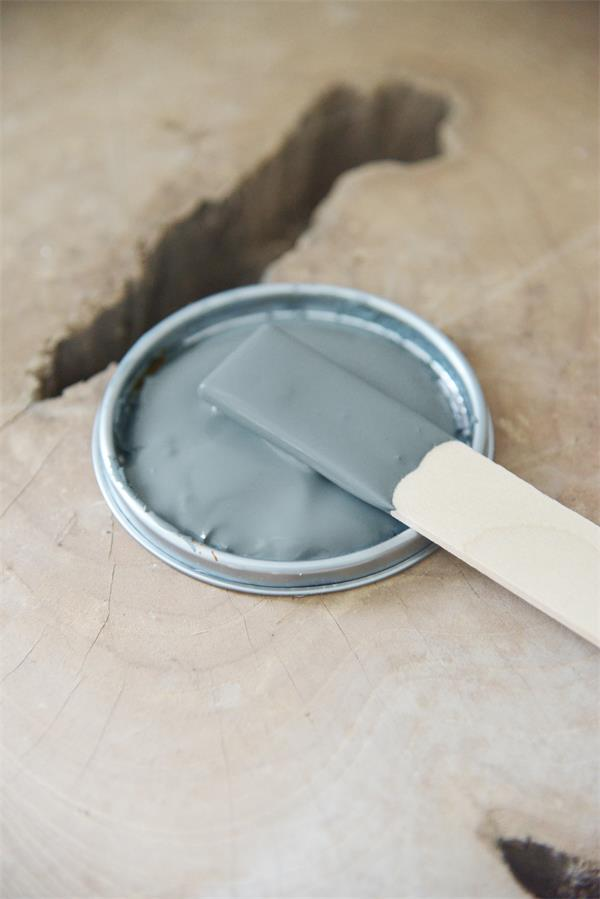 petrol blue Vintage chalk Paint autentico look gesso