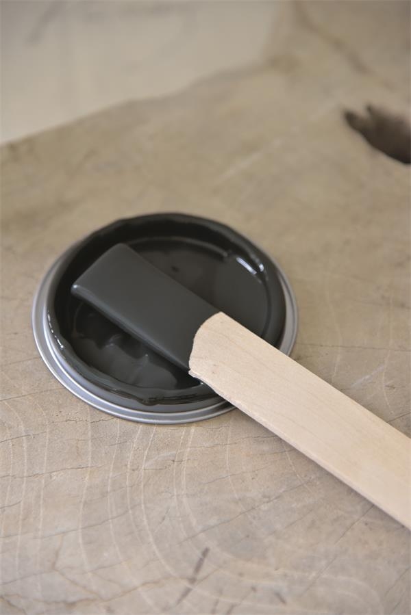 black velvet Vintage chalk Paint autentico look gesso