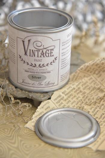 argento vintage chalk paint