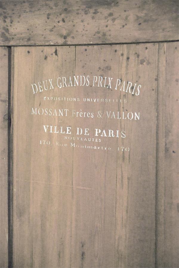 stencil scritte french ville de paris