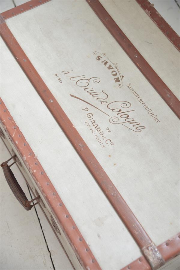 stencil scritta french savon eau de cologne