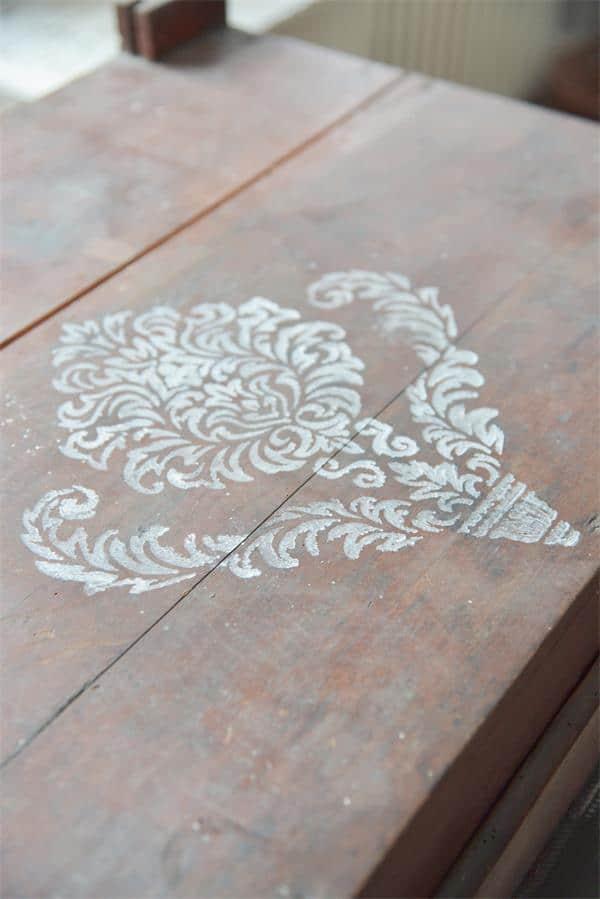 stencil bouquet grande