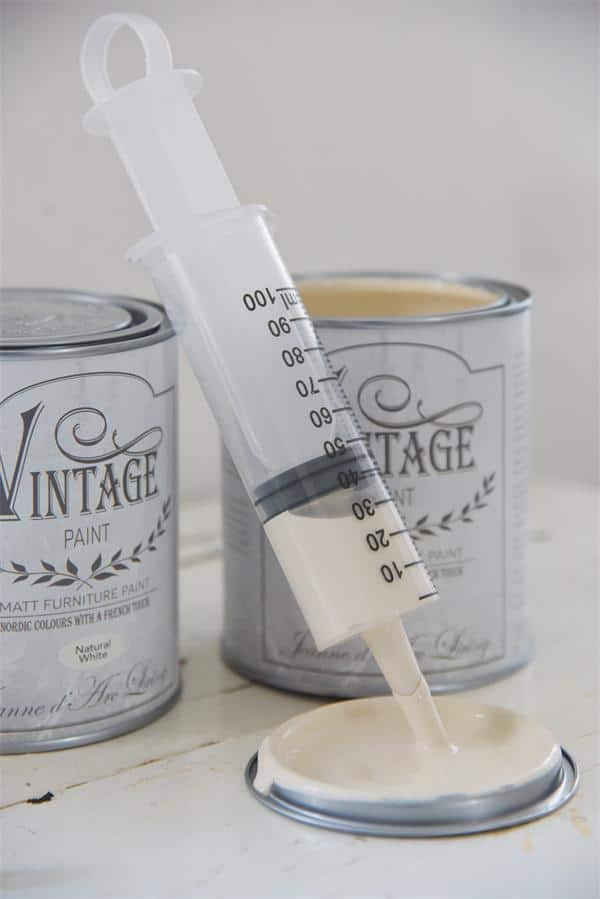 mescolare i colori chalk paint