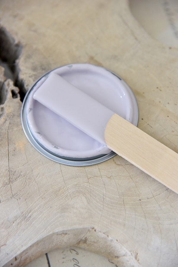 french lavender Vintage chalk Paint autentico look gesso