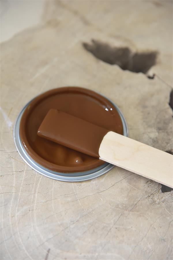 warm brown Vintage chalk Paint autentico look gesso