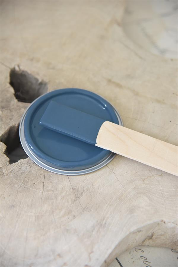 royal blue Vintage chalk Paint autentico look gesso