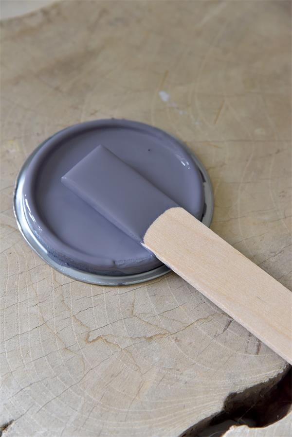 dark lavender Vintage chalk Paint autentico look gesso