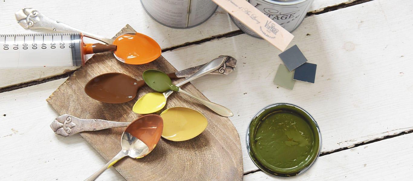 mescolare chalk paint per creare nuovi colori