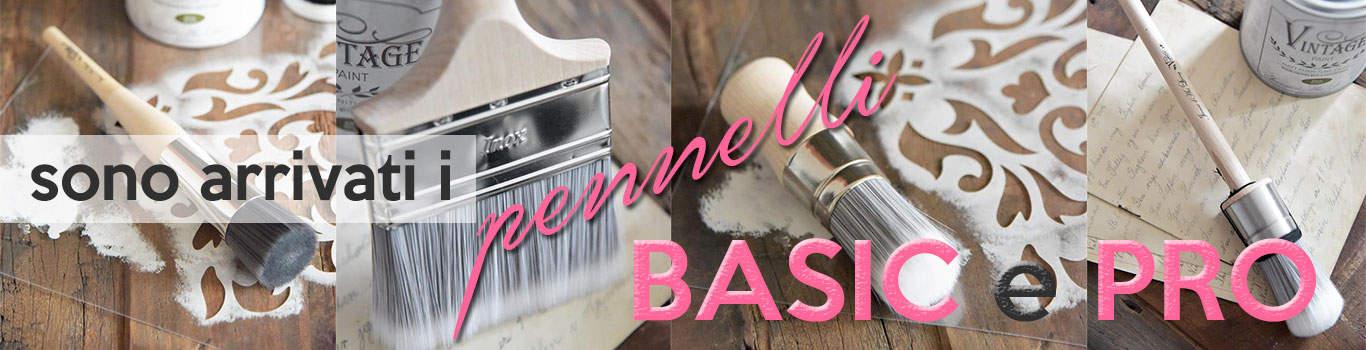 pennelli per vintage chalk paint professionali