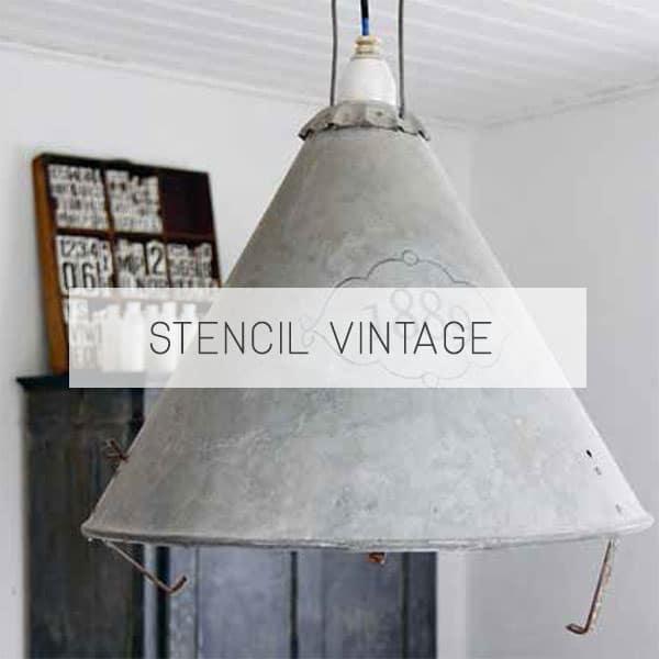 stencil vintage per vernici shabby e chalk paint