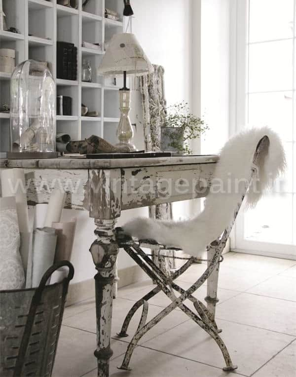 ruggine stile shabby chic