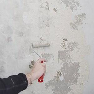 effetti su muro con la vintage chalk paint
