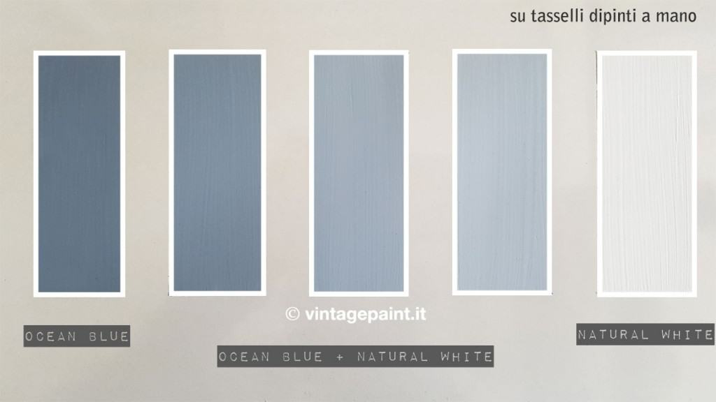 ocean blue vintage chalk paint