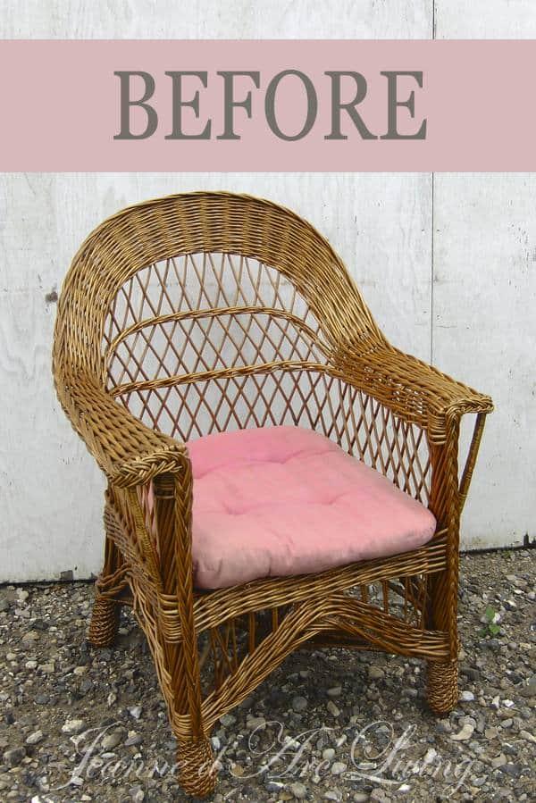 sedia vimini prima