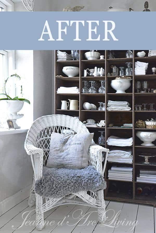 Ricolorare una sedia in vimini con la Vintage Paint