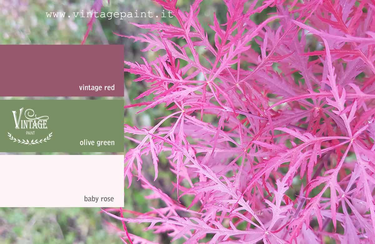 stupore abbinamento colori vintage chalk paint colori shabby