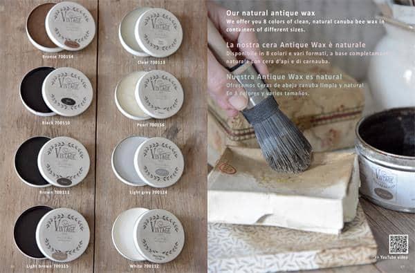 guida di istruzioni vintage paint