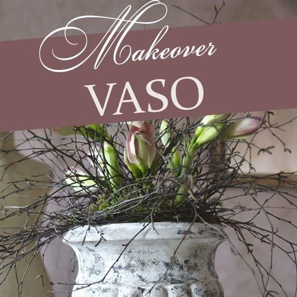 Tutorial Per Restyling Vaso Con Vintage Chalk Paint