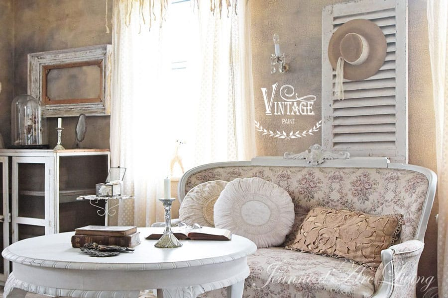 Tutorial Pittura Shabby Chic : Patina e crackle su una parete con la vintage chalk paint tutorial