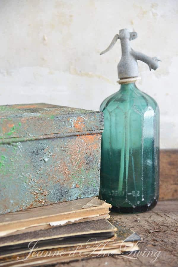 vernice effetto ruggine rame antico