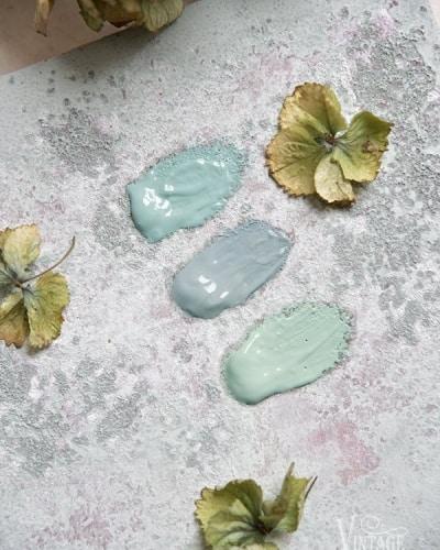 verde anni cinquanta pittura a gesso