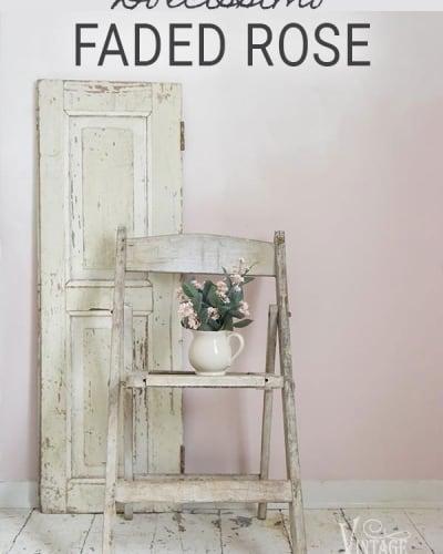 colore rosa pittura a gesso