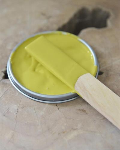 colore giallo primario vintage paint