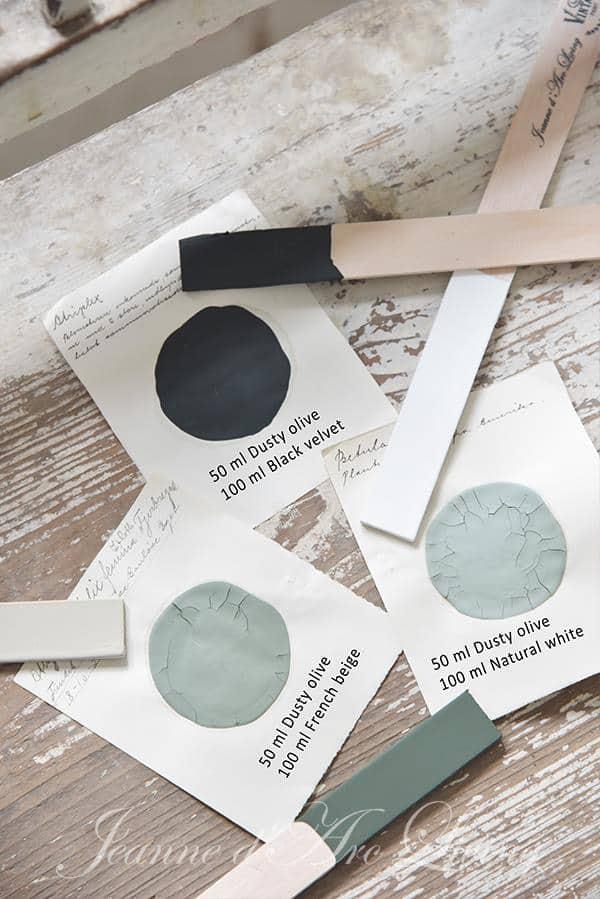ricette per mescolare la vintage chalk paint