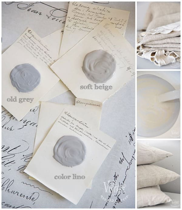 color lino tortora vintage chalk paint