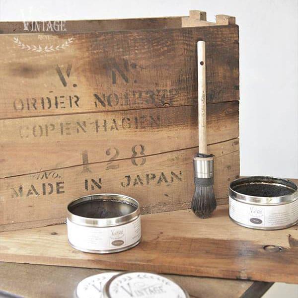 Rinnovare vecchie assi di legno con le cere Vintage – TUTORIAL