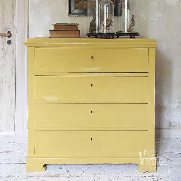 MIXA E CREA NUOVI COLORI: giallo shabby Vintage chalk Paint