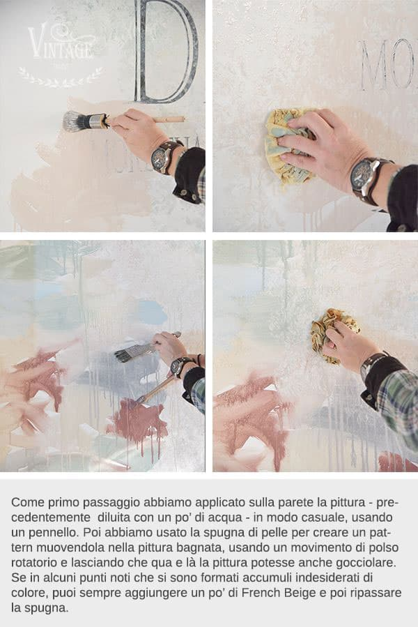 tutorial ricolorare con la pittura a gesso